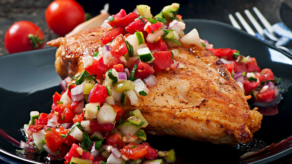 Salsa Chicken | Country Produce